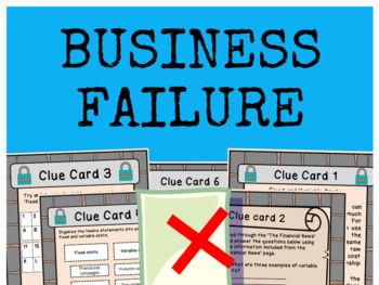 Business Failure - Bundle