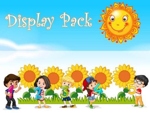 Sunflowers Display Pack