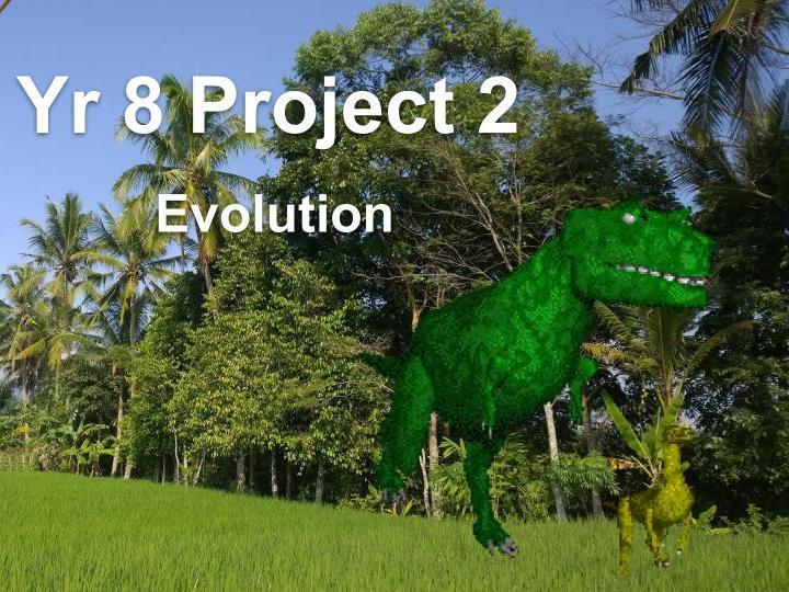 KS3 Home learning Evolution project