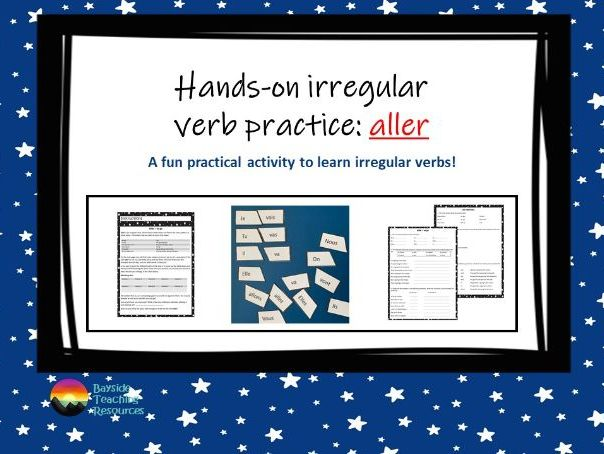 Aller - practical verb practice FRENCH