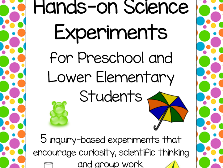 Hands-on Science Experiments for Early Years and Primary Students
