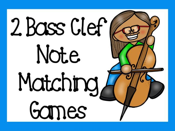 2 Bass Clef Games