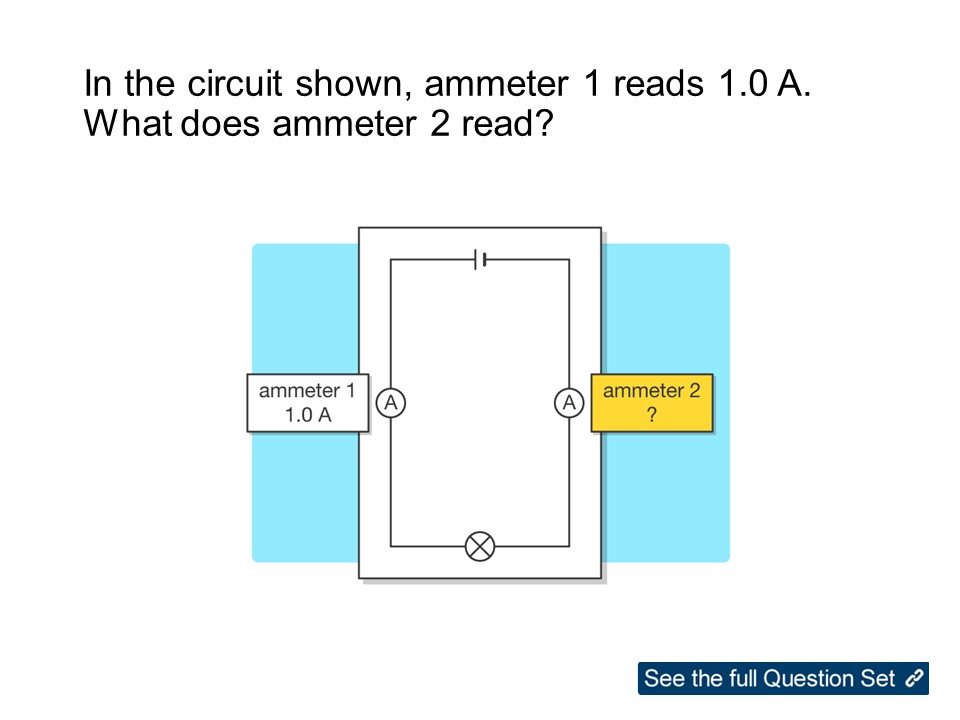KS3 Physics Electricity: Current in Circuits