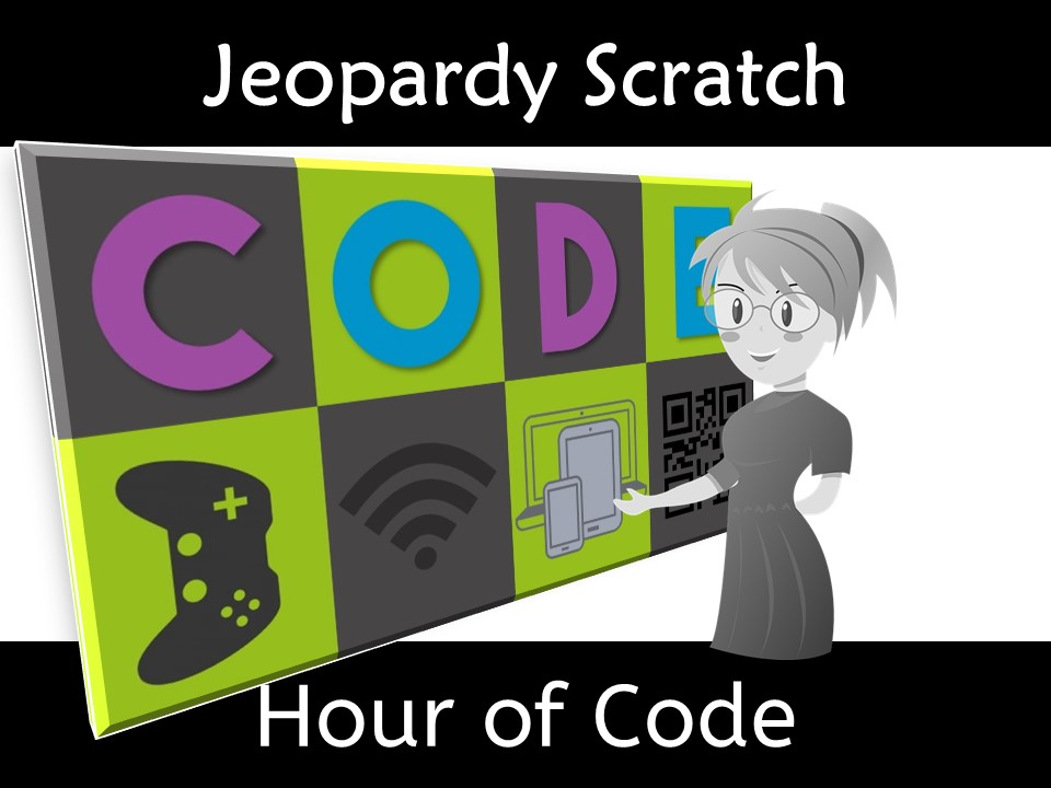 Scratch Hour of Code Vocabulary Jeopardy Game