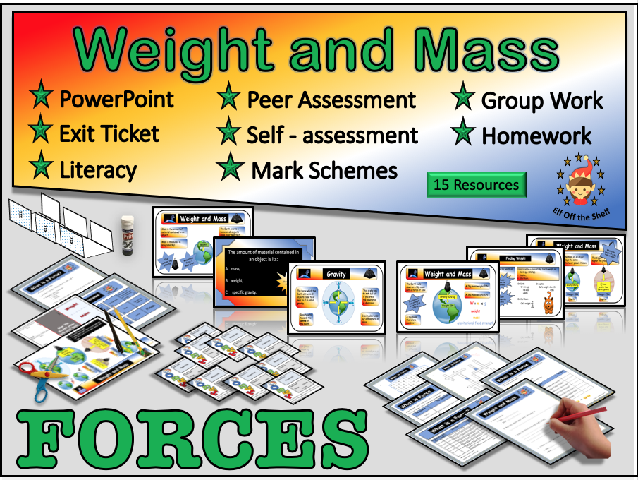 Forces - Weight and Mass KS3