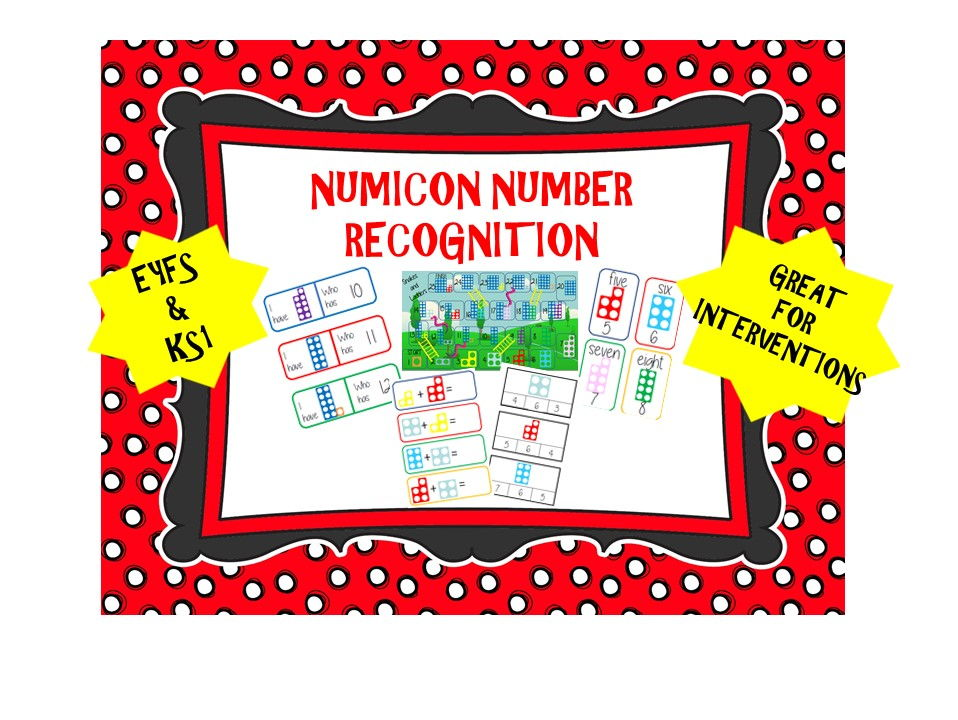 Numicon Number Recognition