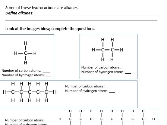 GCSE Chemistry - C7 Combined worksheets