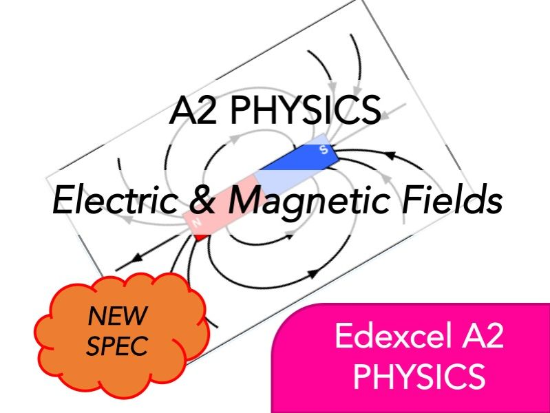 Edexcel A2 Physics(NEW)-Electric & Magnetic Fields-Whole Course Content - Revision, Questions, Notes