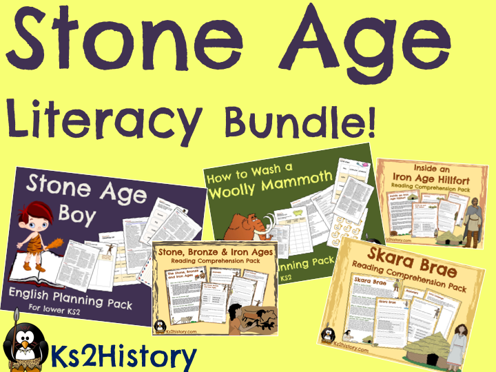 Stone Age Literacy Bundle
