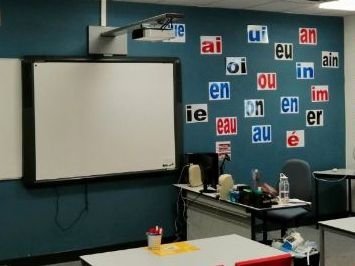 French Phonics Display