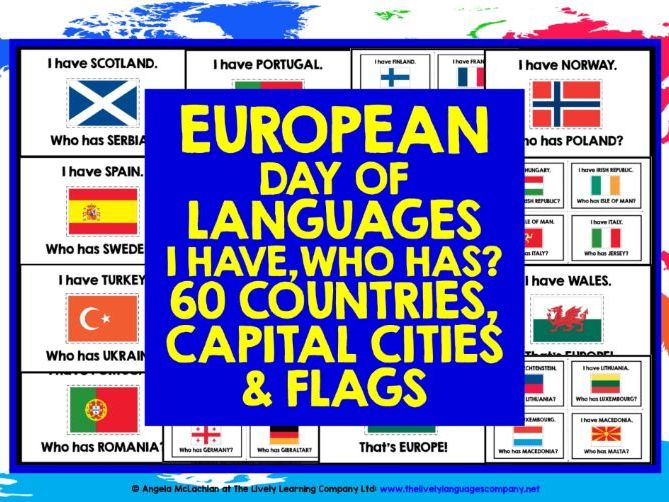 EUROPEAN DAY OF LANGUAGES GAME