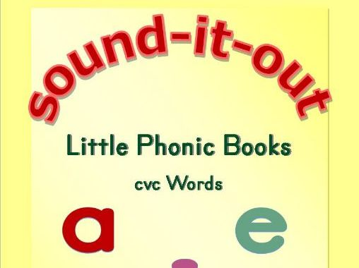 Little Phonic Books - CVC Words