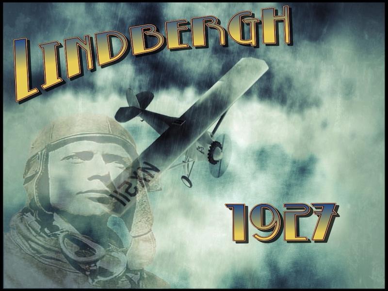 Charles Lindbergh 1927 - Comic Book Resource