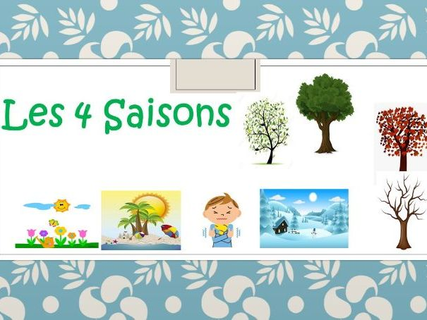 Les 4 Saisons (French Seasons)