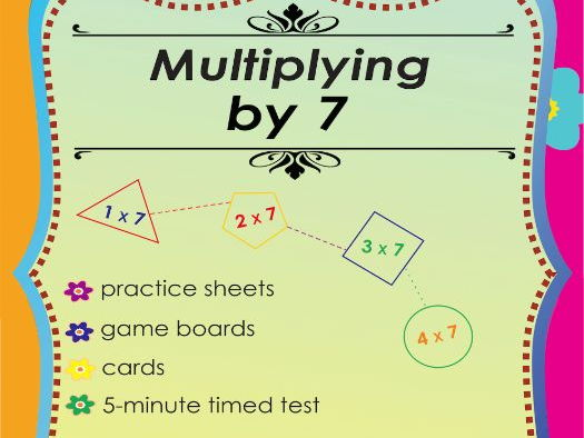 Multiplying by 7 - Multiplication Math Games and Lesson Plans