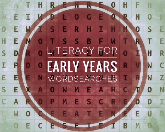Literacy for Early Years. Wordsearches