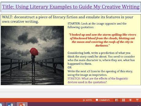 Language Paper 1 Question 5 Practcie