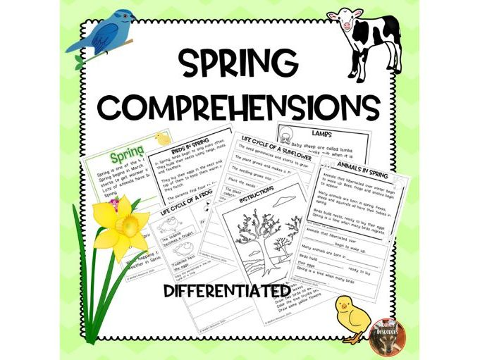 Spring Comprehensions KS1