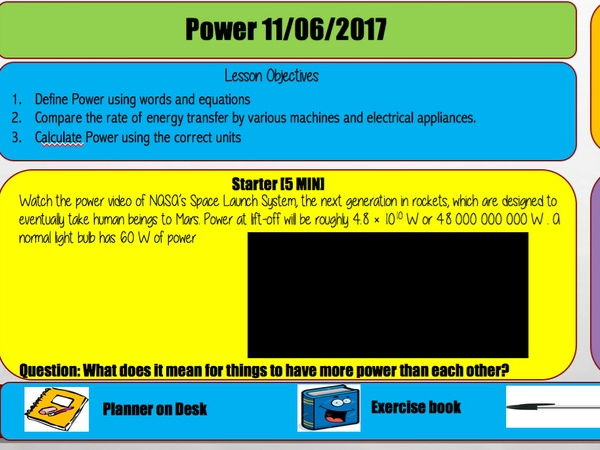 AQA TRILOGY POWER 6.1.1.4