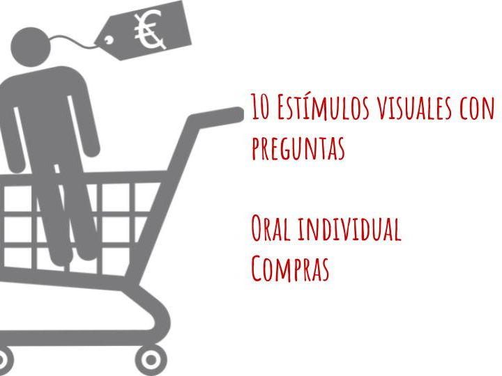 Compras Individual Oral Booklet - Spanish ab Initio