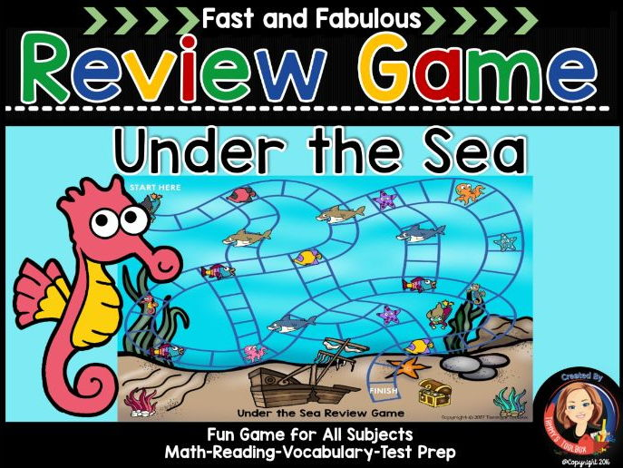 Under The Sea Review Game for Any Subject