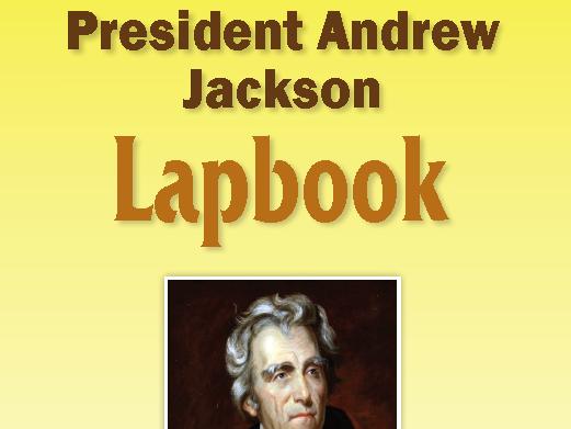 President Andrew Jackson Lapbook