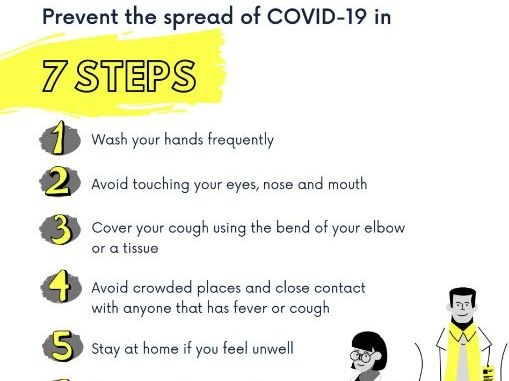 COVID-19 Printable Poster