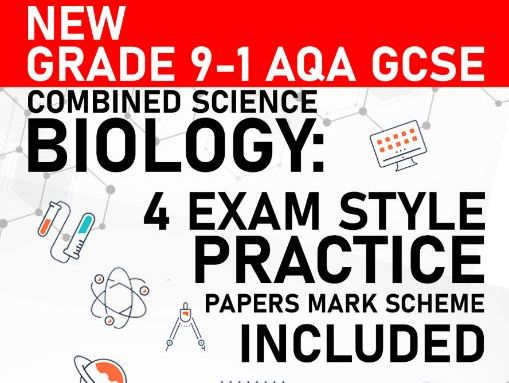 PREDICTED 2021 AQA GCSE Combined Science Biology Practice Paper - Mark Scheme Included - Paper 3