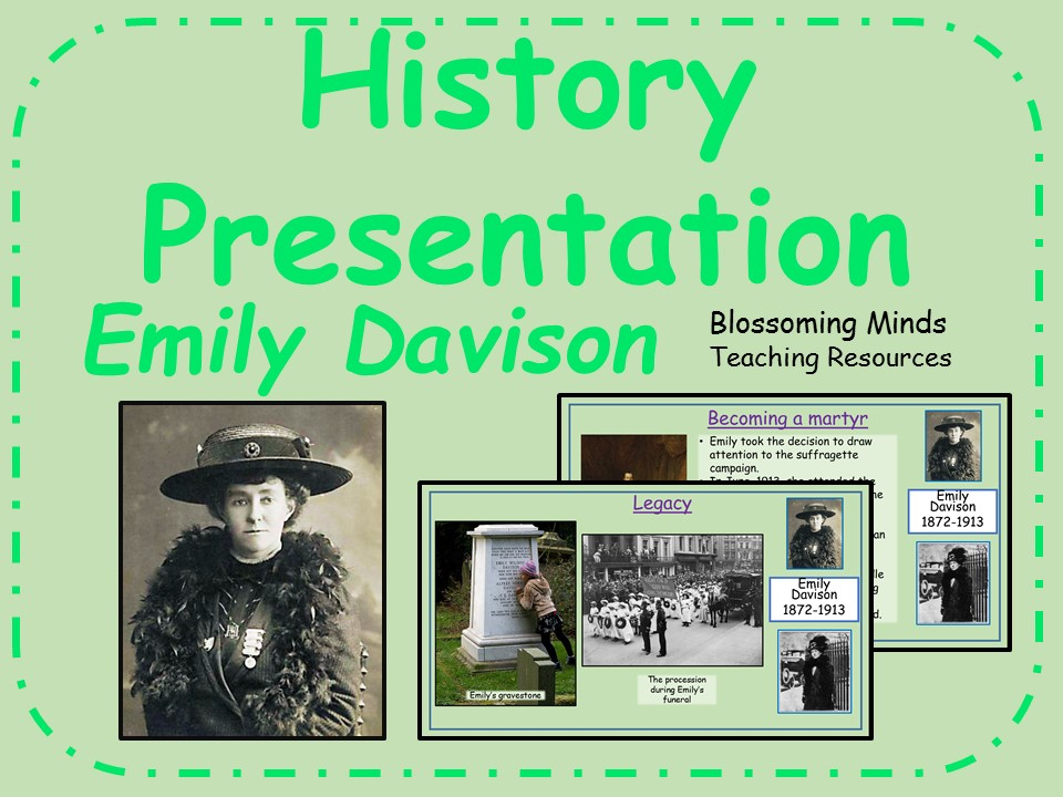 Emily Davison - History Presentation - Primary age