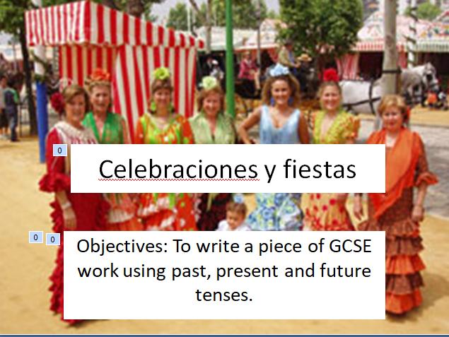 GCSE Spanish La Tomatina 2 lessons