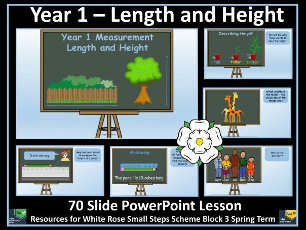 Length and Height - Year 1 - White Rose