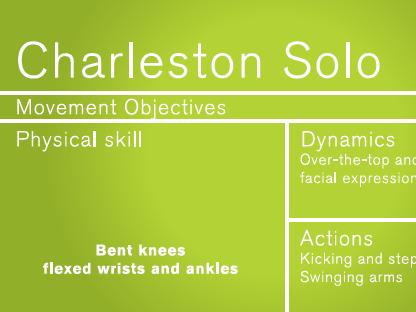 Ballroom Dance - Charleston plan and video for KS2 children