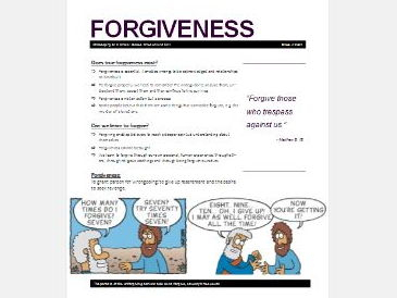 WJEC Eduqas Issues of Good and Evil: Forgiveness and Reconciliation Exam Booklet