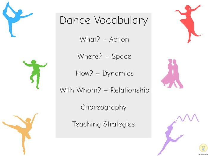 Dance vocabulary