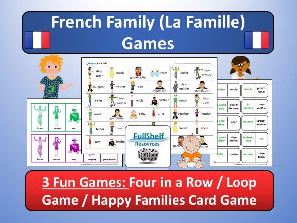 French Family (La Famille) Games