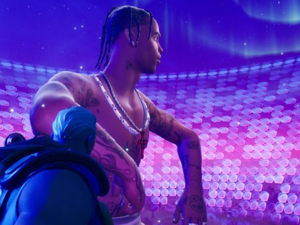 Fortnite- Travis Scott Eduqas Media GCSE