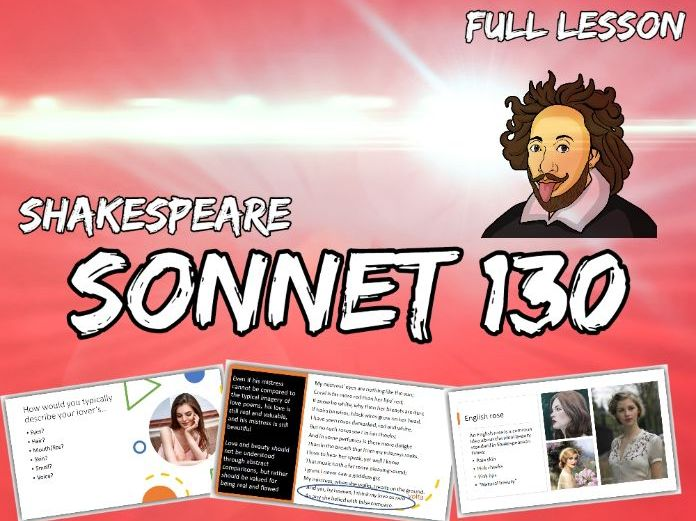Sonnet 130 Analysis and Annotations (Shakespeare, English Literature)