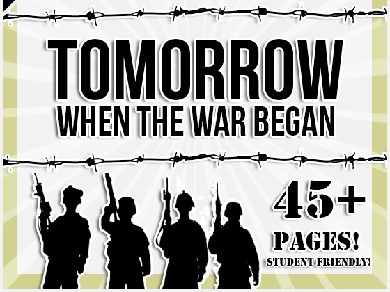 Tomorrow, When the War Began by John Marsden Novel Study