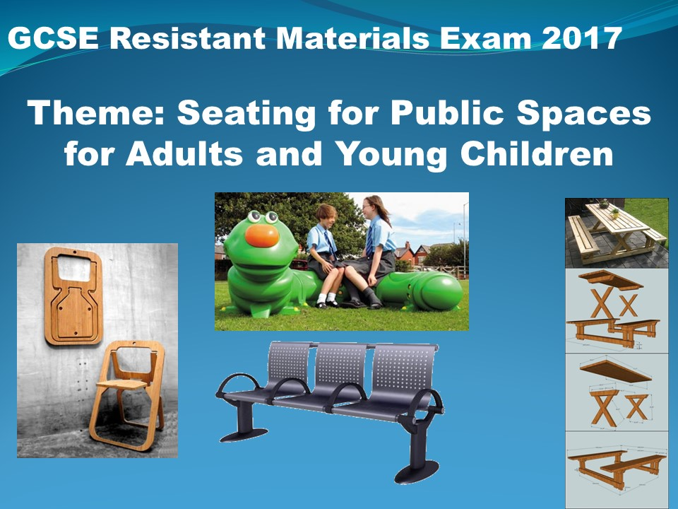 Learning and revision resources for the AQA Resistant Materials 2017 examination.