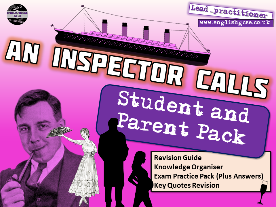 An Inspector Calls English Home Learning