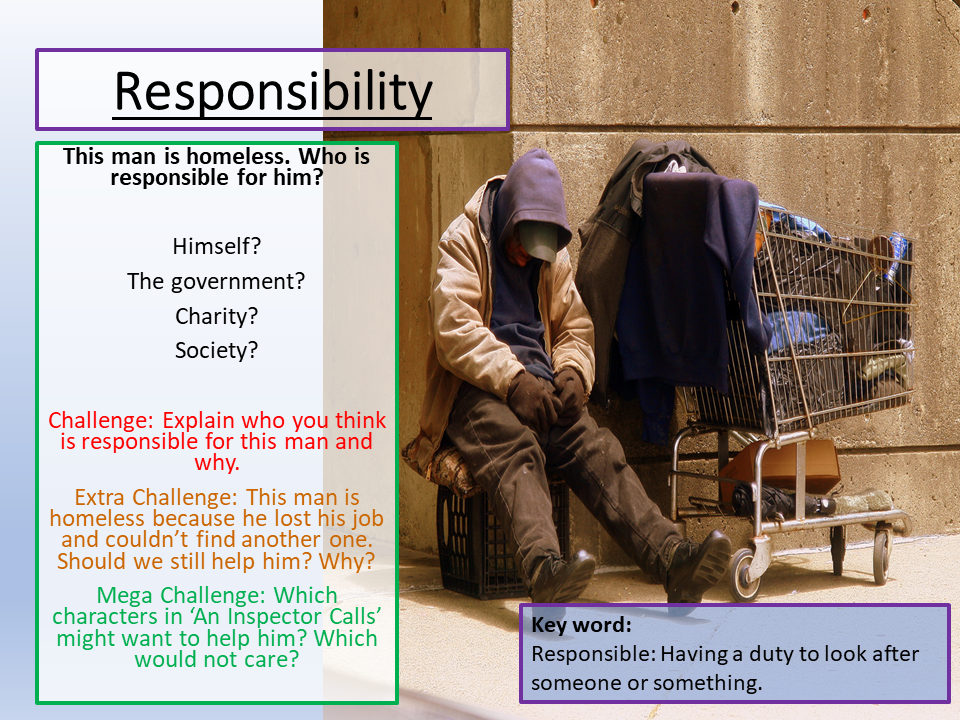 An Inspector Calls Responsibility