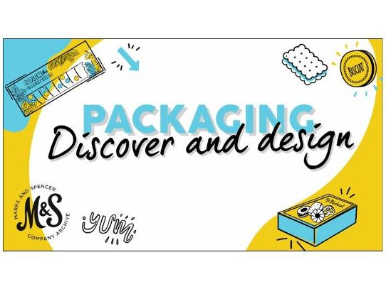 KS2 D&T: M&S Packaging - Discover & Design