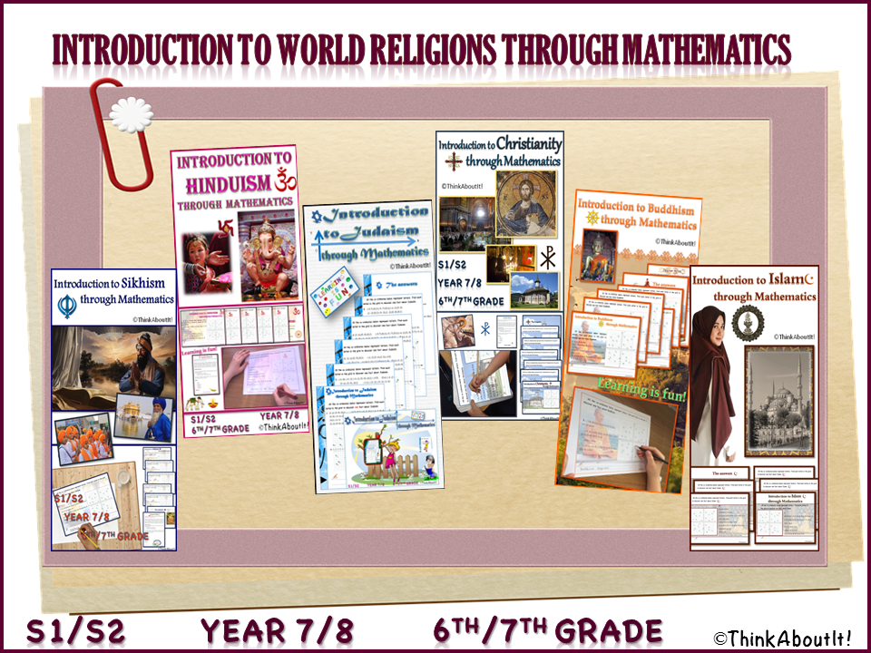 {FREE} Introduction to World Religions through Mathematics SAMPLE