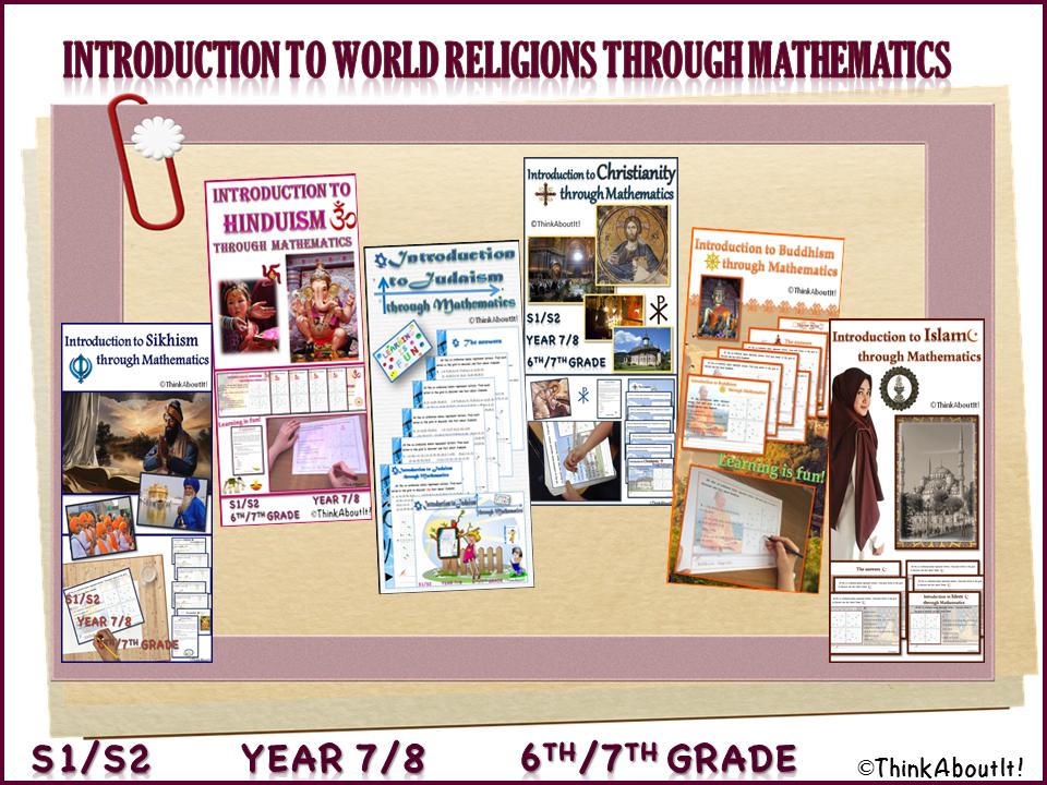 {FREE} Introduction to World Religions through Mathematics SAMPLE