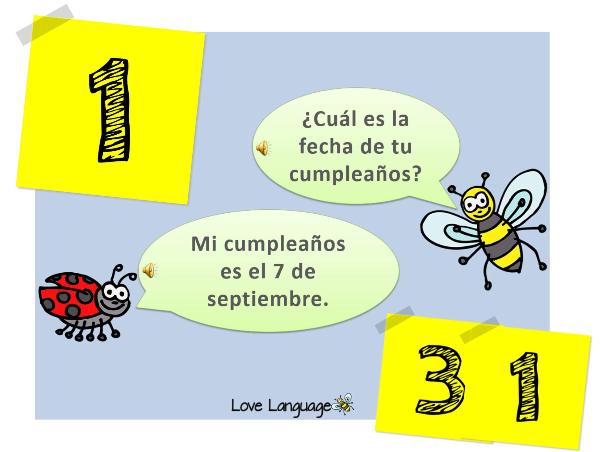 Birthday in Spanish Bundle
