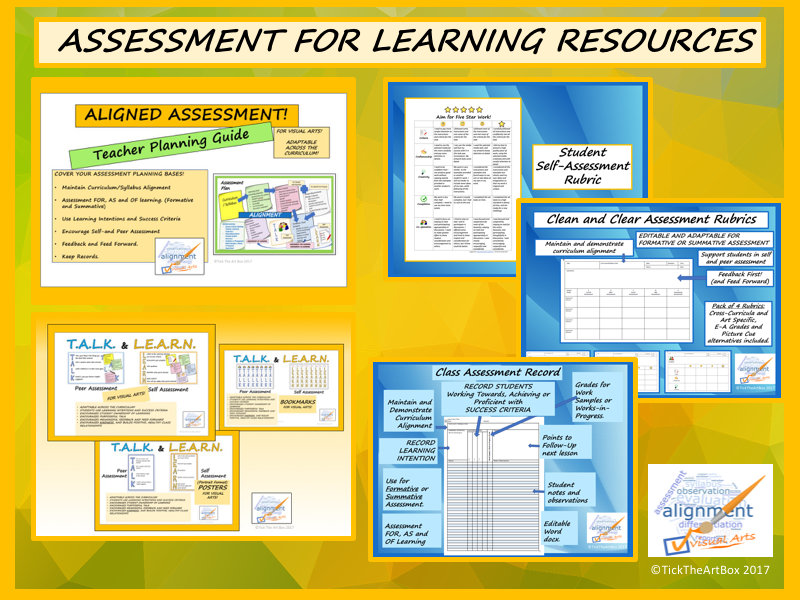 Assessment For Learning Resources