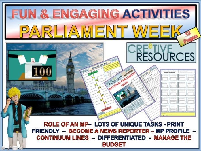 Parliament week 2018