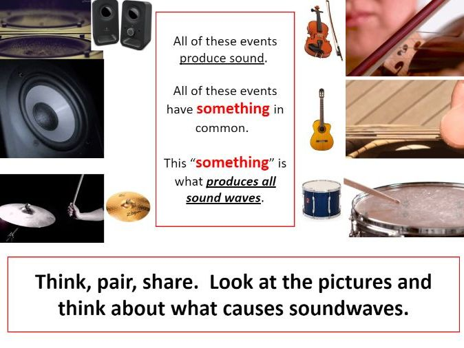 Sound waves - GCSE/iGCSE