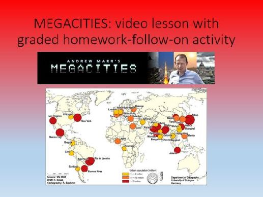 Megacities self study video lesson