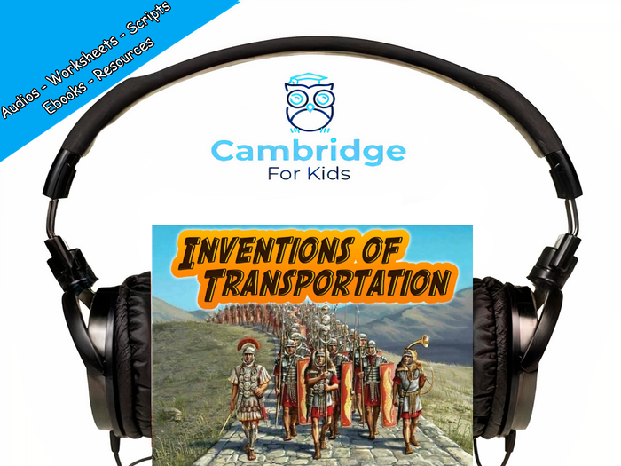 Ancient Roman Inventions Audiobook & Comprehension Activities / Worksheets / eBooks